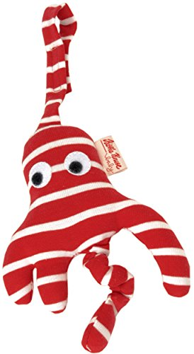 """Kathe Kruse Baby Mobile 6.5"""", Red Octopus"""