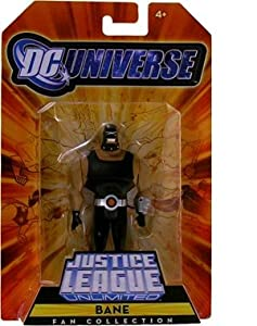 DC Universe Justice League Unlimited Exclusive Action Figure Bane at Gotham City Store