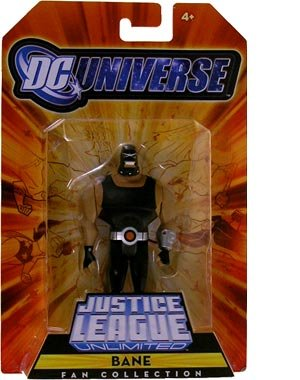 DC Universe Justice League Unlimited Exclusive Action Figure Bane at Gotham City Store