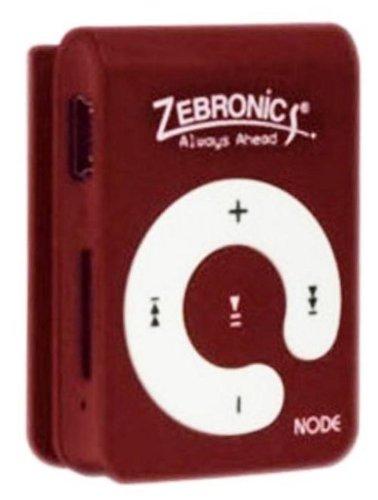 Zebronics Node MP3 Player (Red)