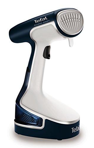 tefal-dr8085-access-steam-garment-steamer-white-and-blue