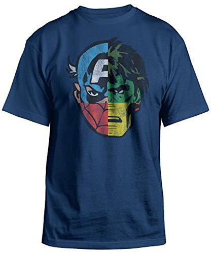 Marvel Avengers Boys Mighty Faces Graphic T Shirt