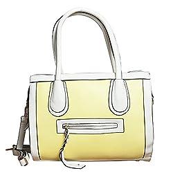 fatangbag Handbag (yellow) (fbkf036y)