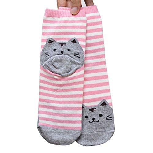 amison-3d-animals-striped-cartoon-socks-women-cute-cat-footprints-cotton-socks-floor-pink