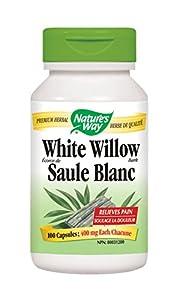 Nature's Way White Willow Bark, 100 Capsules