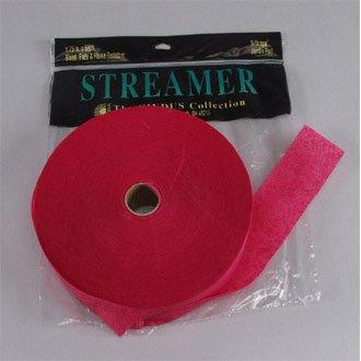 Streamer 500 ft. 1 pc-Burgundy