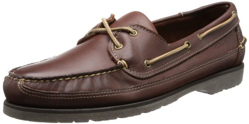 Sebago BROCKTON 2-EYE Men's Derby Brown Braun (DARK BROWN) Size: 9.5 (43.5 EU)