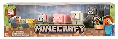 Minecraft Animal Toy (6-Pack) from Jazwares Domestic