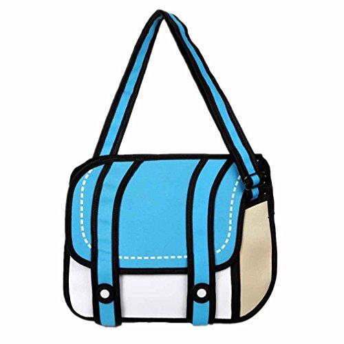 dewang-3d-jump-style-2d-drawing-from-cartoon-paper-bag-comic-messenger-bag-blue