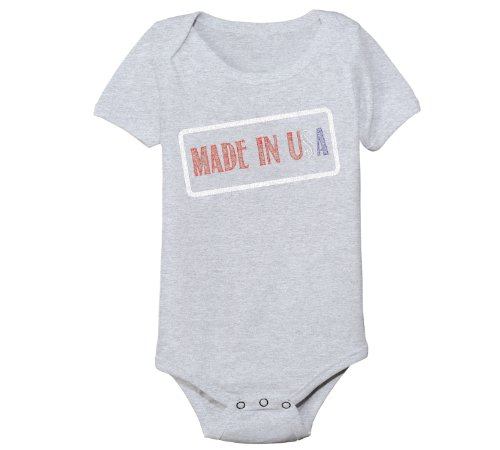 Patriotic Baby Clothes front-347565