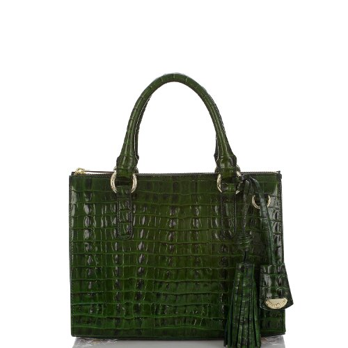 Anywhere Convertible Satchel<br>La Scala Racing Green