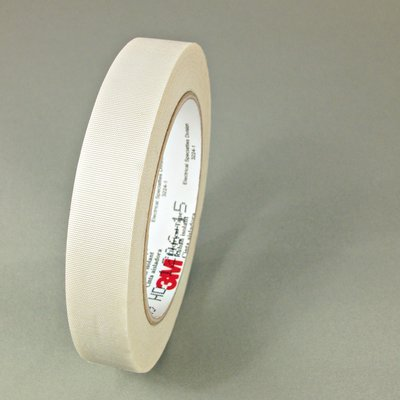 """(3M 27-3/4""""X60Yd) (3M Id Number 80002020115) 3M(Tm) Glass Cloth Electrical Tape 27-3/4""""X60Yd, White, Rubber Thermosetting Adhesive, 3/4 In X 60 Yd (19,05 Mm X 55 M), 48 Per Case [You Are Purchasing The Min Order Quantity Which Is 48 Rolls]"""