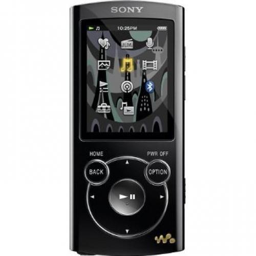 Sony NWZS764BLK 8GB S Series MP3 Player (Black)