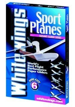 White Wings Sport Planes, 6 Model Kit