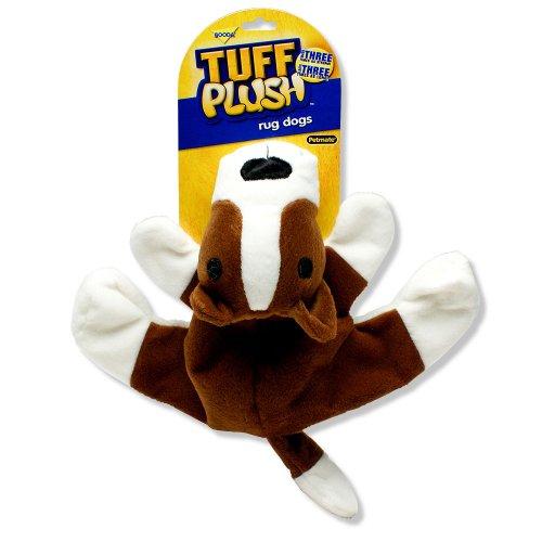 Booda Tuff Plush Rug Dog