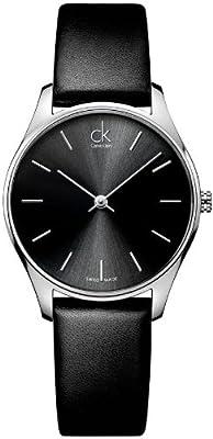 Calvin Klein ck Classic Leather Ladies Watch K4D221C1