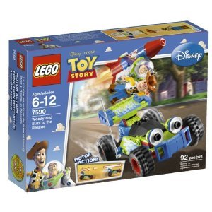 LEGO brand Toy Story Woody and Buzz Rescue (7590) Amazon.com