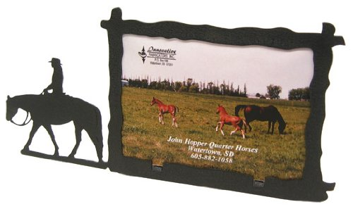 Lady Western PLEASURE RIDER 3X5 Horizontal Picture Frame