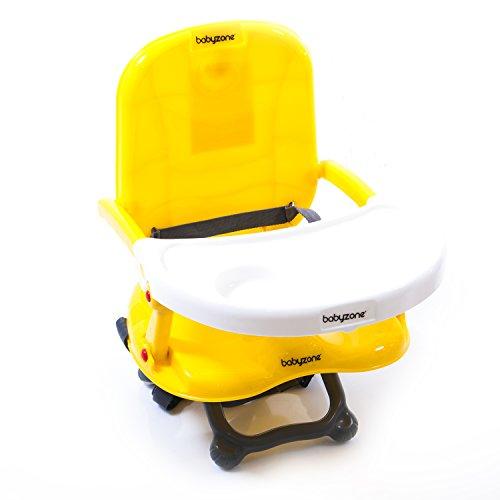 Alzasedia Colorato - seggiolino pappa compatto - BabyZone (giallo)