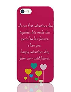 PosterGuy iPhone 5 / 5S Case Cover - As Our First Valentines Day Together Valentines Day Colorful Hearts Royalty, Day Hearts, Quotes, The Best Heart Day, Flat Designs, Colorful Heart With Love.