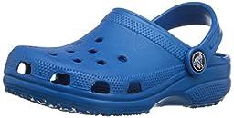 crocs Classic Kids Clog (Toddler/Little Kid), Ultramarine, 4/5 M US Toddler