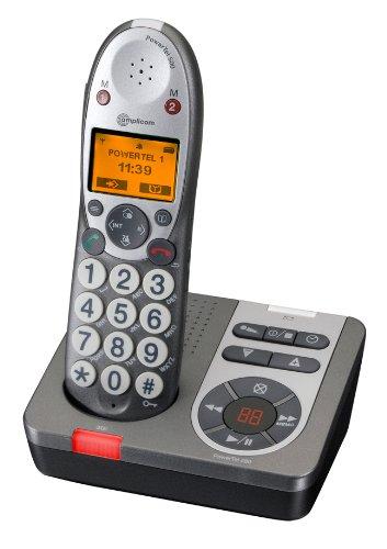 Amplicom PowerTel 580 DECT handset image