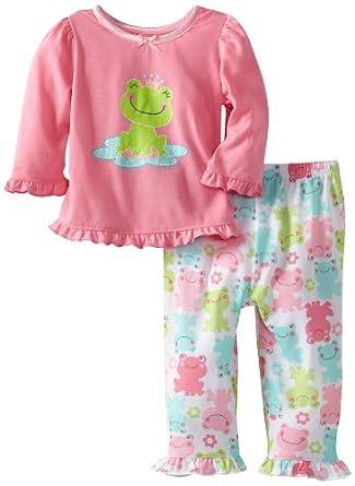 Amazon Little Me Baby Girls Princess Frog 2 Piece