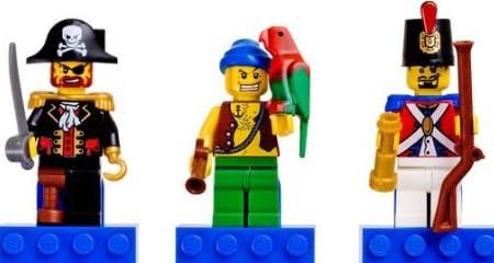 レゴ ミニフィギュア マグネット パイレーツ 赤ひげ船長 海賊団 兵士