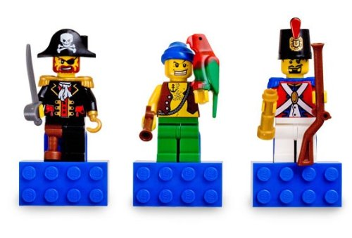 LEGO Pirates Set #852543 Pirates Magnet Set (Lego Fridge Magnets compare prices)
