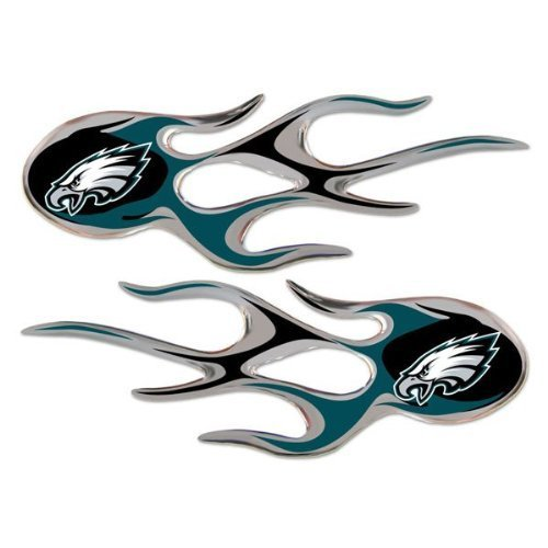 philadelphia-eagles-nfl-micro-flames-auto-decal-2-pack-for-car-truck-motorcycle-bike-mailbox-locker-