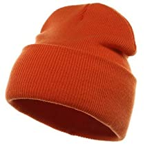 Long Beanie-Orange W16S24E