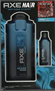 AXE Hair Primed Just Clean Shampoo Gift Set