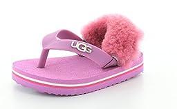 UGG Kids Baby Girl\'s Yia Yia II (Infant/Toddler) Jellyfish Slipper SM (US 2-3 Infant) M