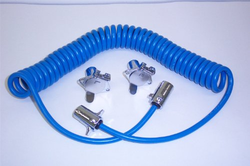 Blue Ox Bx8861 4-Wire Coiled Electrical Cable