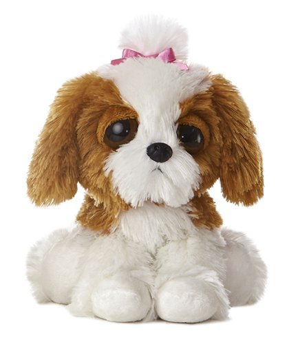 "Aurora World Dreamy Eyes Princess Puppy 10"" Plush"
