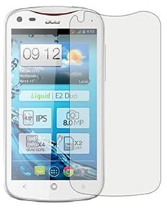 6 x Membrane Films de protection d'écran Acer Liquid E2 Duo - Ultra clair, Emballage