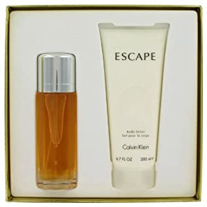 ESCAPE by Calvin Klein, Gift Set -- 100ml Eau De Parfum Spray + 200ml Body Lotion