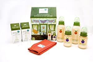 Green to Grow Mellow Colic-Relief Regular Neck Welcome Home Set