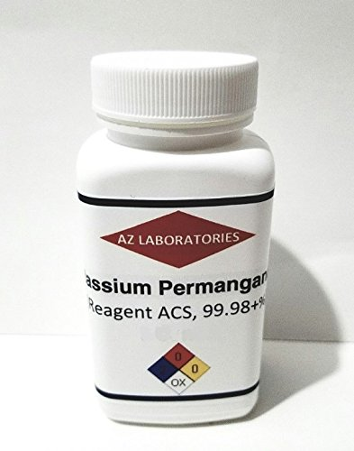 Potassium Permanganate /USP/ 4 OZ / 99% Pure / USA / SAME DAY SHIP (Potassium Permanganate Crystals compare prices)