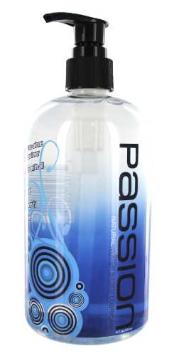 Passion Lubes, Natural Water-based Lubricant, 16 Fluid Ounce