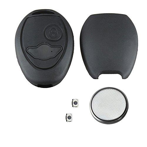 bacai-replacement-fits-bmw-mini-one-s-2-button-remote-key-fob-repair-refurbishment-kit