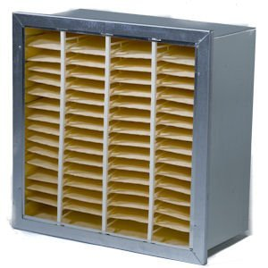 Quality Cell MERV 12 Filter with Header FFQCH12 20x24x6