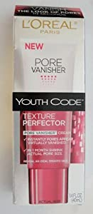 L'Oreal Paris Youth Code Texture Perfector Pore Vanisher, For All Skin Types, 1.4 Fluid Ounce
