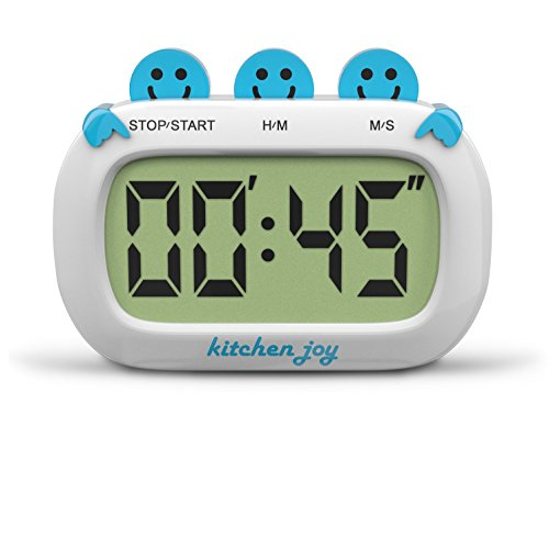 Digital Kitchen Timer Kitchen Joy with Clock and Loud Alarm (Fridge Timer compare prices)