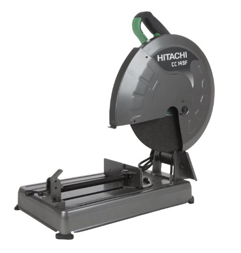 Review Hitachi CC14SFS 14-Inch 15-Amp Portable Chop Saw with Trigger Switch 4000-RPM
