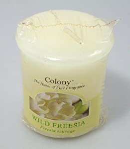 Wax Lyrical Colony Homescenter Votives Candle Wild Freesia from Wax Lyrical