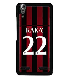 PRINTVISA Football Kaka Case Cover for Lenovo A6000