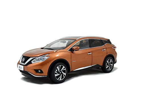 [Official sales] Paudi 1/18 Nissan Murano 2015 die-cast model car (Gold) minicar 1/18 NISSAN Murano Diecast Model Car (Nissan Murano Cast compare prices)