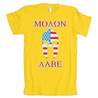 Molon Labe USA Spartan American Apparel T-Shirt