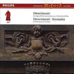 Divertimenti & Serenades: Comp Mozart Edition 3 by Wolfgang Amadeus Mozart, Neville Marriner, Michael Laird, Edo de Waart and Academy of St. Martin-in-the-Fields Chamber Ensemble